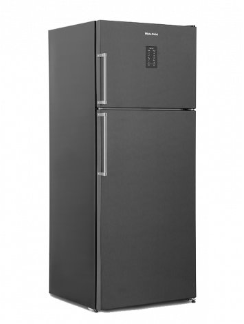 White Point Refrigerator Nofrost 525 liters Digital screen Black WPR543DB