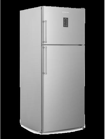 White Point Refrigerator Nofrost 525 liters Digital screen stainless WPR543DX