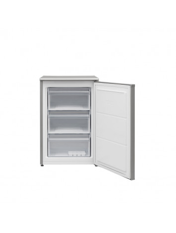 White Point Upright Freezer Defrost 3 Drawers 102 liters Silver WPVFDF143S