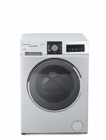 White Point Front Load Full Automatic Washing Machine 7KG Grando with Inverter Motor & Steam Wash Silver WPW7121TSSWVSG