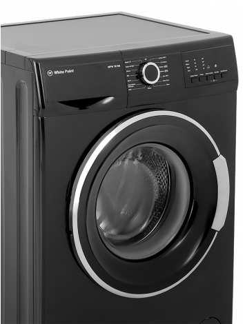 White Point Front Load Full Automatic Washing Machine 7 KG in Black Color WPW71015B